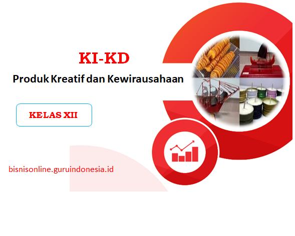 KI KD Produk Kreatif dan Kewirausahaan 2013 Revisi 2019