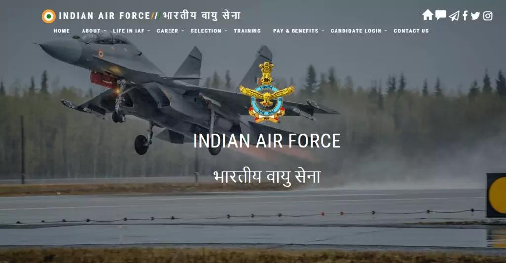 Indian Air Force AFCAT Recruitment 2020