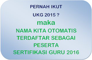 calon peserta sergur ppgj 2016