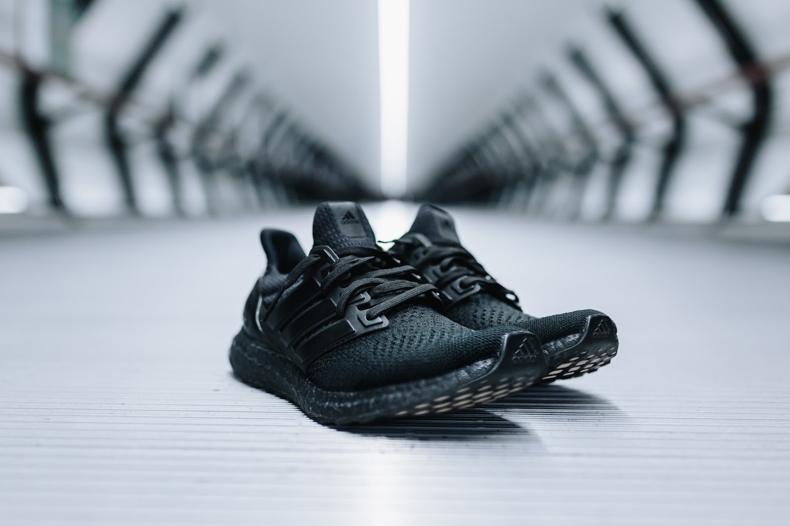 372e45ec47fe7 The long awaited  Triple Black  adidas Ultra Boost is finally here. The  adidas UltraBOOST Triple Black features a full core black Primeknit upper  sitting ...