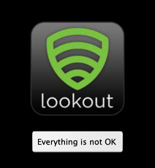 Fake Lookout android app stealing your SMS and MMS messages