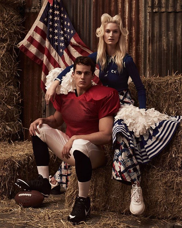 Beauty + Fashion + Everything Pietro Boselli for Americana