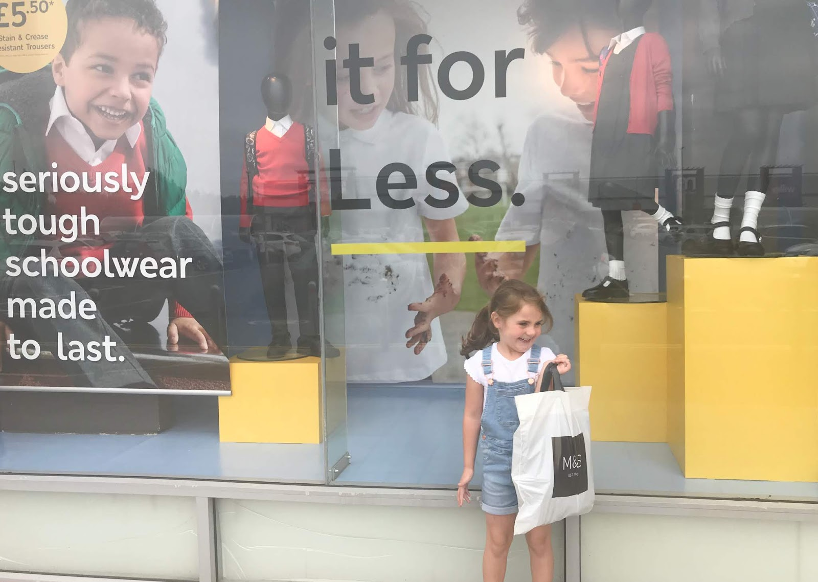 Back To School Shopping At Silverlink Shopping Park