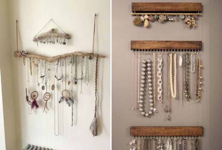 Shibar ita ideas para organizar los accesorios - Para colgar collares ...