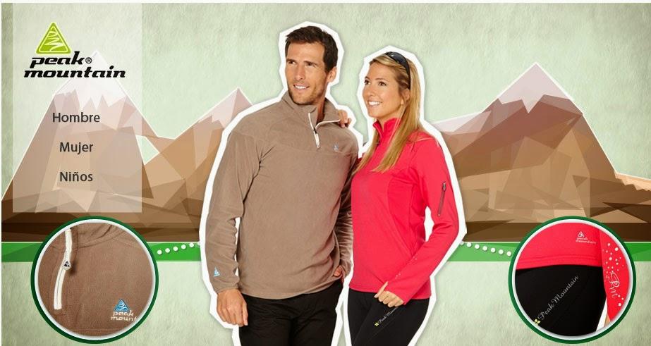 Encuentra las mejores prendas de abrigo en esta oferta de Peak Mountain