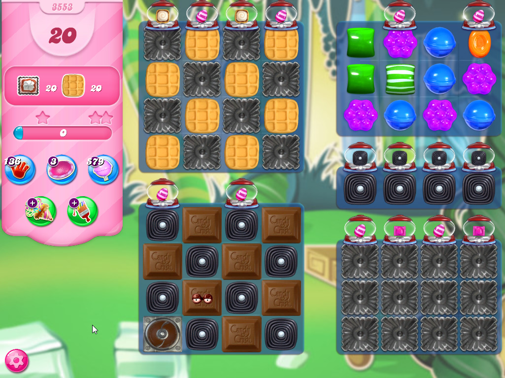 Candy Crush Saga level 3553