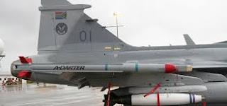 The SAAF A-Darter missile