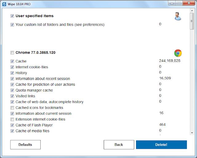 Screenshot Wipe Pro 18.04 Full Version