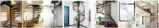6. Model tangga lingkar