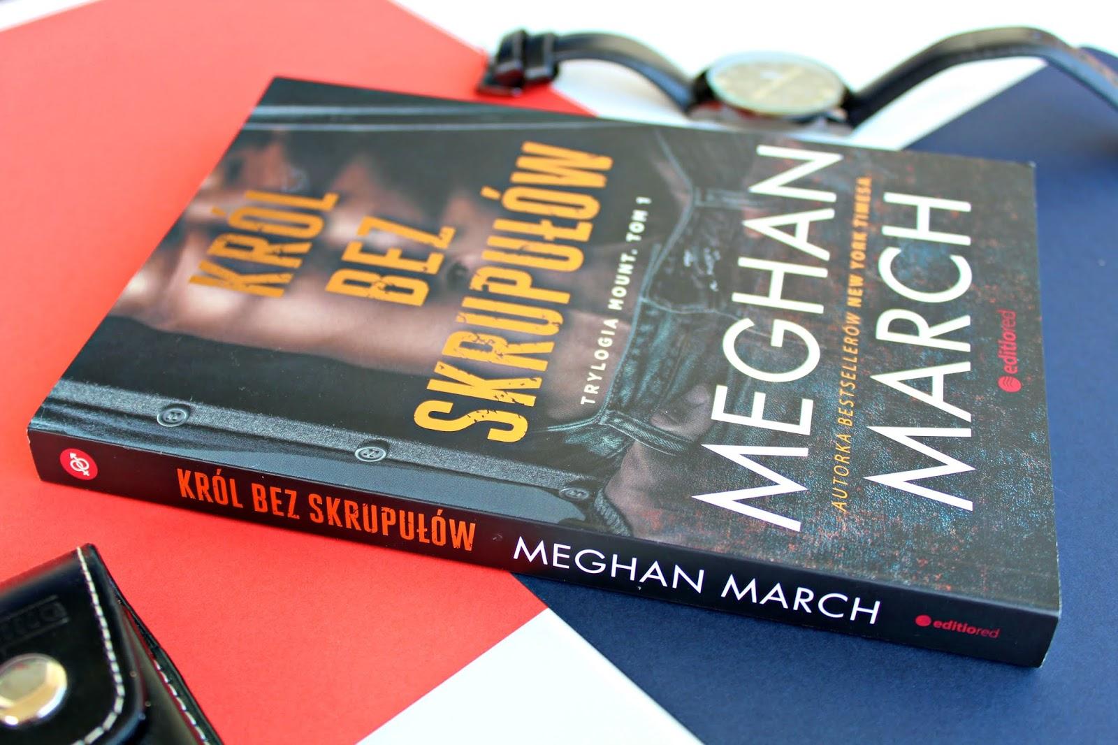 "Meghan March ""Król bez skrupułów"" - recenzja"