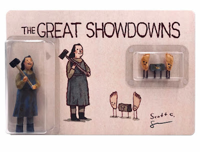 New York Comic Con 2019 Exclusive The Great Showdowns Misery Resin Figure Set by Scott C x DKE Toys