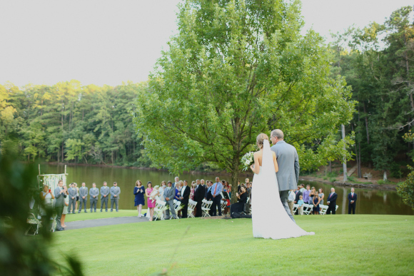 Lakeside Ceremony (Photo: J. Woodbery Photography)