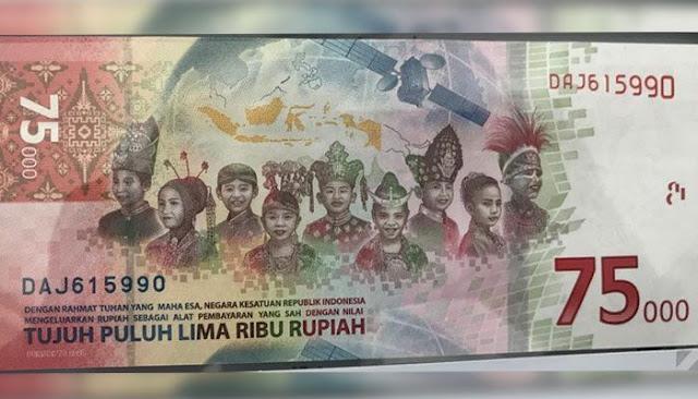 Sudah Resmi Beredar! Begini Cara Dapat Uang Baru Rp75.000