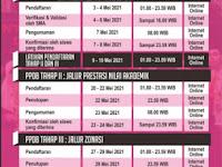 JADWAL KEGIATAN PPDB SMAN 2 PONOROGO TAHUN AJARAN 2021-2022