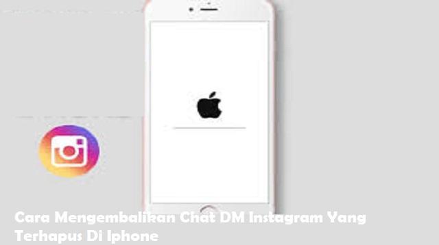 Cara Mengembalikan Chat DM Instagram yang Terhapus di iPhone