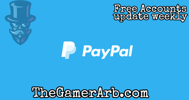 Free Paypal Accounts