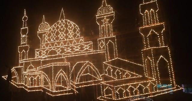 Tidak Ada  Festival Lampu Colok di Bengkalis