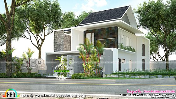 2900 square feet 4 bedroom fusion home design