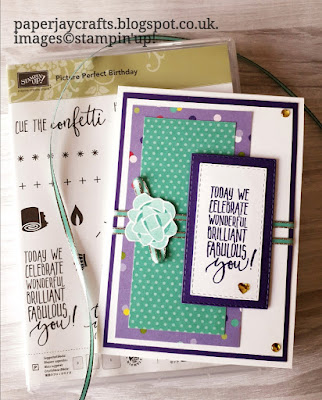 Picture Perfect Stampin Up Birthday Card