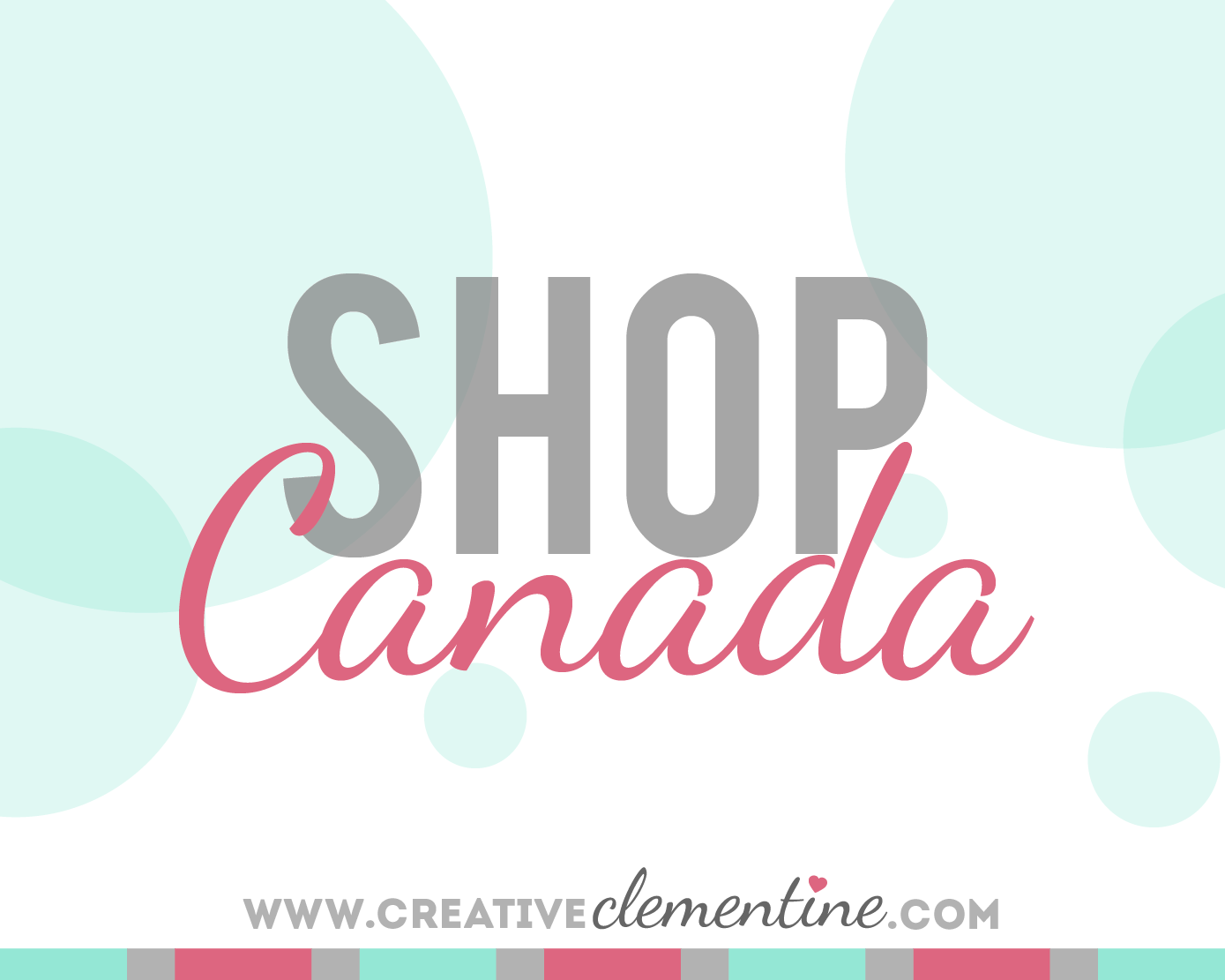 Shop Canada! Five rooms done five ways via five different Canadian sources.