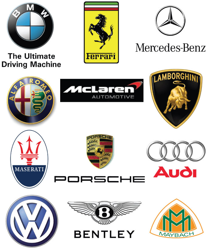 Car Logo Logos Pictures - Car sign with names