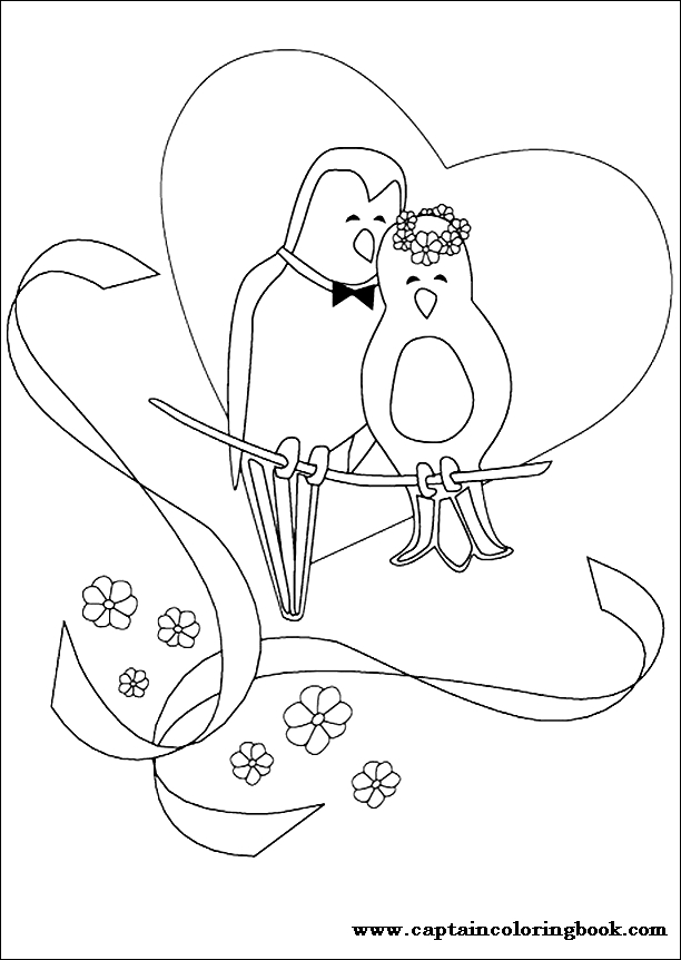 Printable Wedding Coloring Pages Kids - Coloring Home   862x612