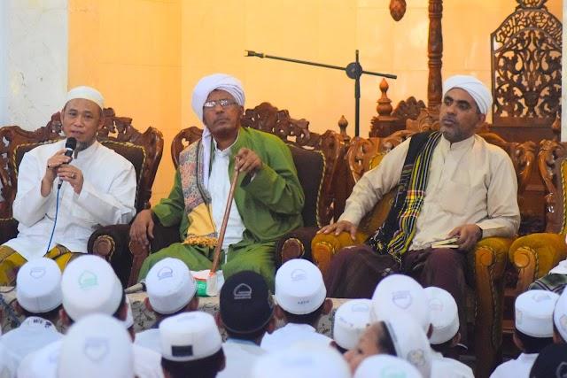 Kunjungan Habib Ahmad al Aidid di Alkhoziny