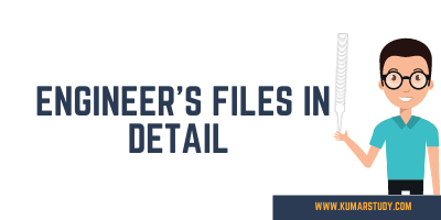 Engineer's files