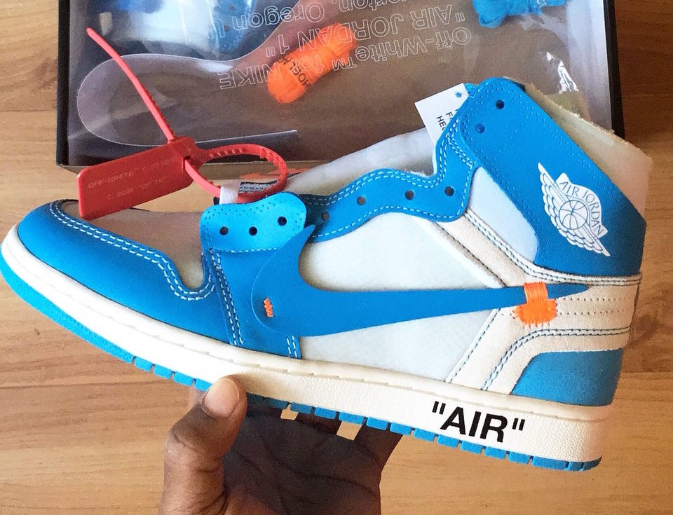 "41eb5f9d581a Jordan Brand and Virgil Abloh will be expanding their Off-White x Air  Jordan 1 lineup with a brand new ""UNC"" colorway for June. Dressed in a White"