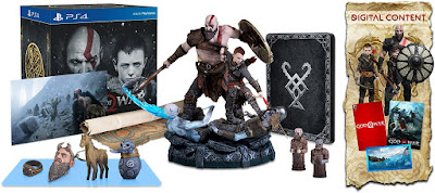 God of War Game Cover PS4 Stone Mason Edition Box Set