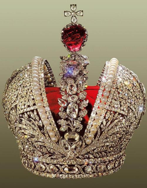 Большая императорская корона Российской империи, 1762 г.