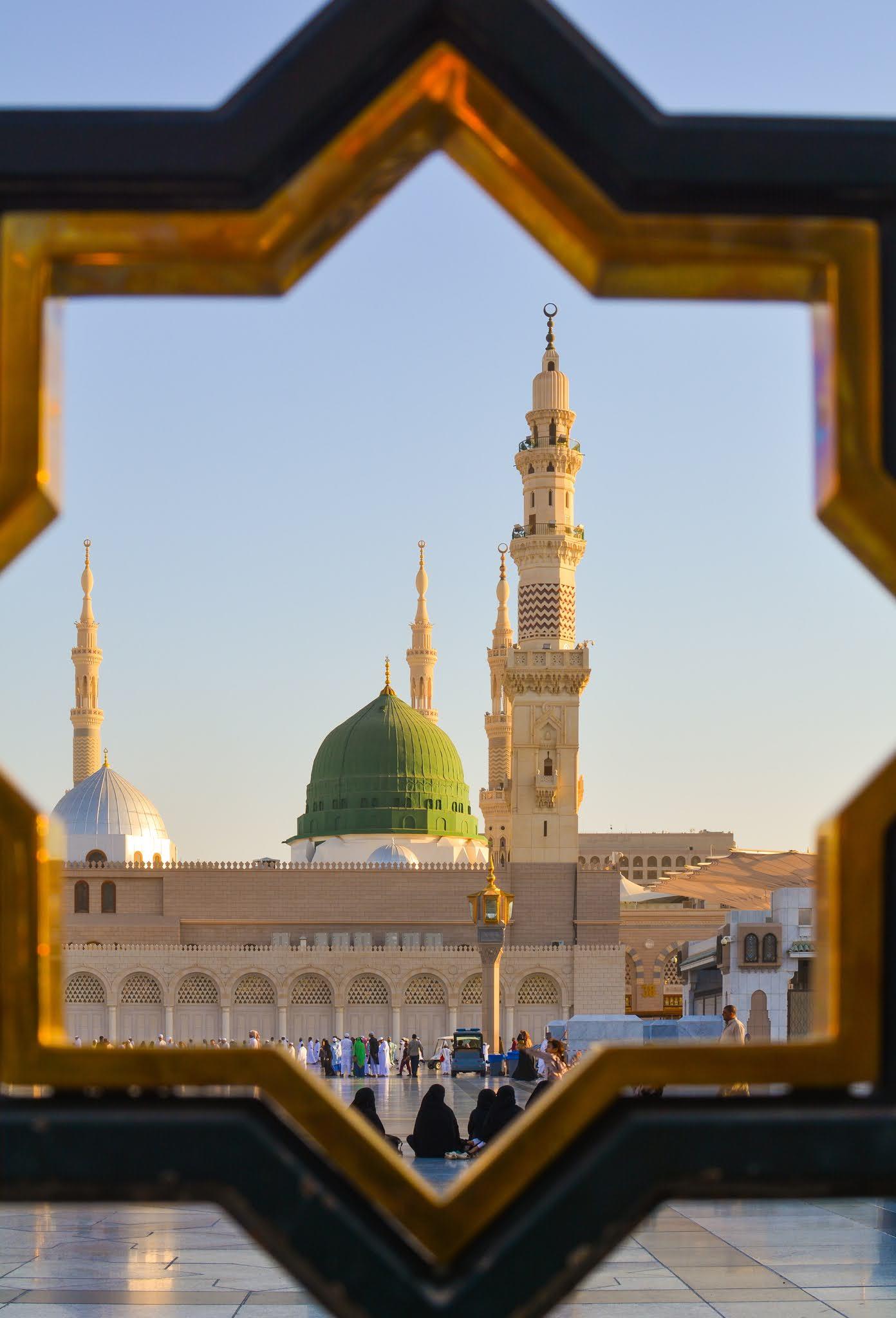 المسجد النبوي الشريف في المدينة المنورة