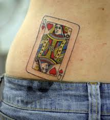 Tattoo Simbols Queen Of Hearts Tattoo