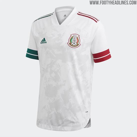 Mexico 2020 Away Kit 2