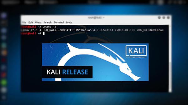 قم بتحميل النسخة الجديدة من نظام لينيكس Kali بمميزات جديدة تعرف عليها الأن !