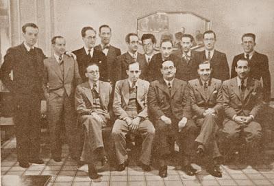 Social Barcelona-1936 - 15 ajedrecistas de los que participaron