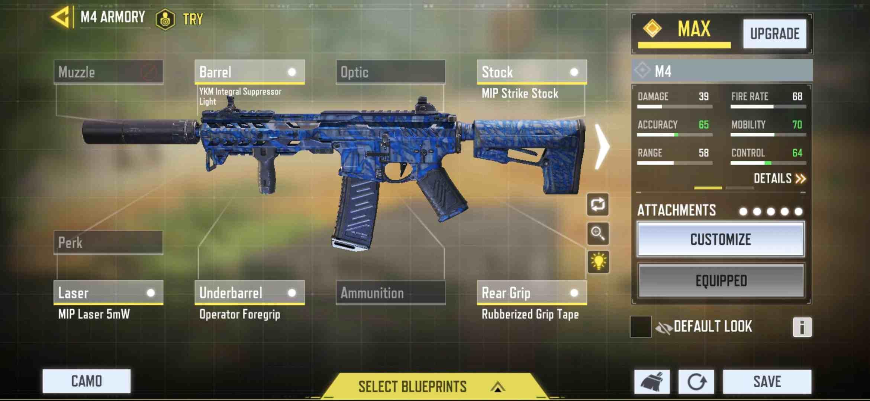 M4 best Balance gunsmith for multiplayer