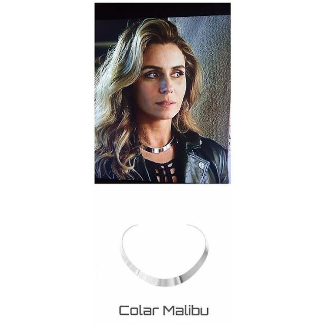 Colar colera prata da Atena (Giovanna Antonelli), a regra do jogo