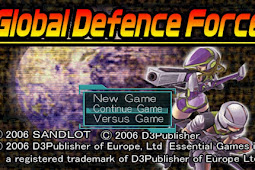 Global Defence Force + Save data PS2 ISO High Compressed