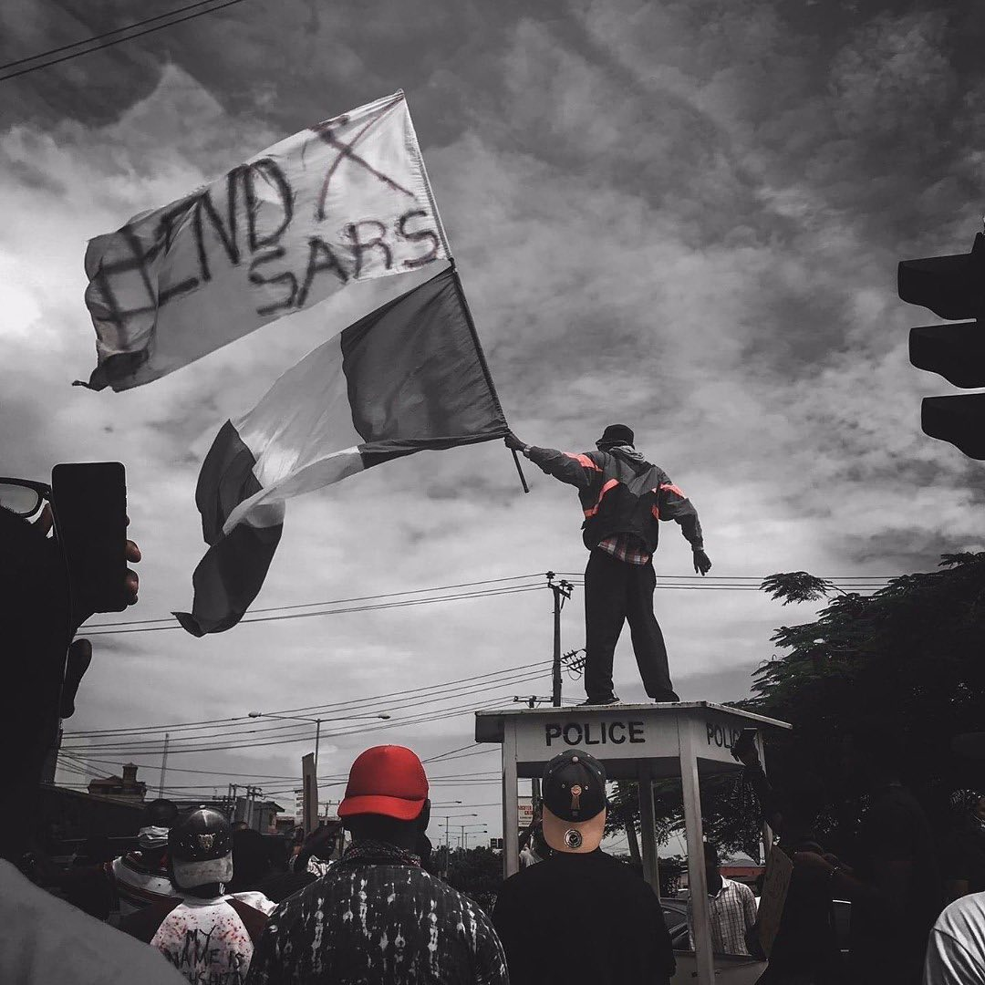 END SARS NOW, END POLICE BRUTALITY: ENOUGH IS ENOUGH