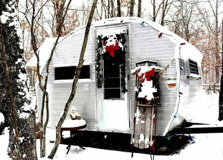 Little Red Retro Hickory Nut Campground Lake Lure And