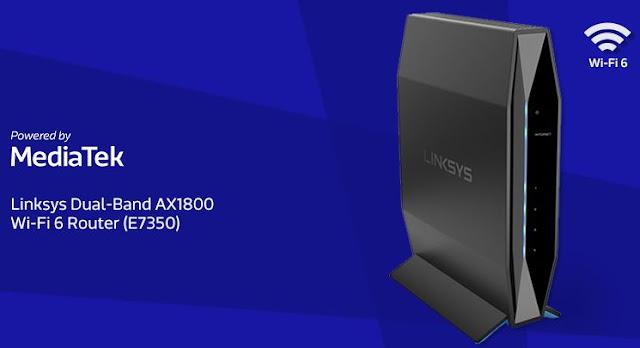 Linksys Router WiFi-6 E7350 Sensasi Internet Ngebut Dari Rumah