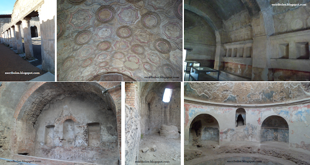 Viaje a Roma: Pompeya, termas