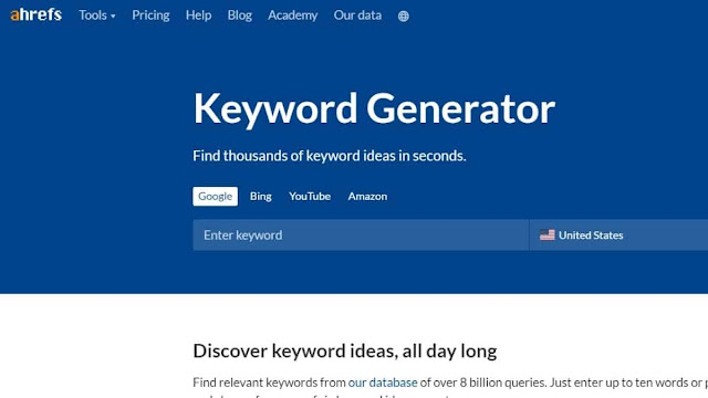 cheap and best keyword research tools