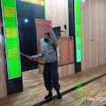 Kapolsek Cimenyan Kompol Sumi M SH Pimpin Operasi Penyemprotan Disinfektan Menyasar Rumah Ibadah