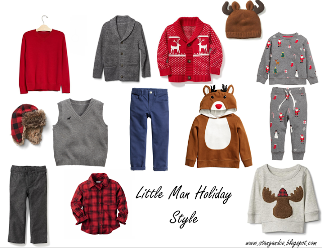 Stang&Co: Little Man Holiday Looks