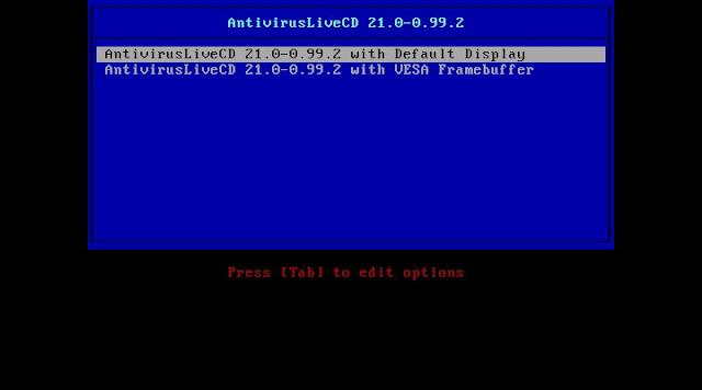 Lançada nova versão da distribuição Antivirus Live CD, a versão 21.0-0.99.2