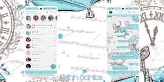 Clock Theme For YOWhatsApp & Fouad WhatsApp By Driih Santos