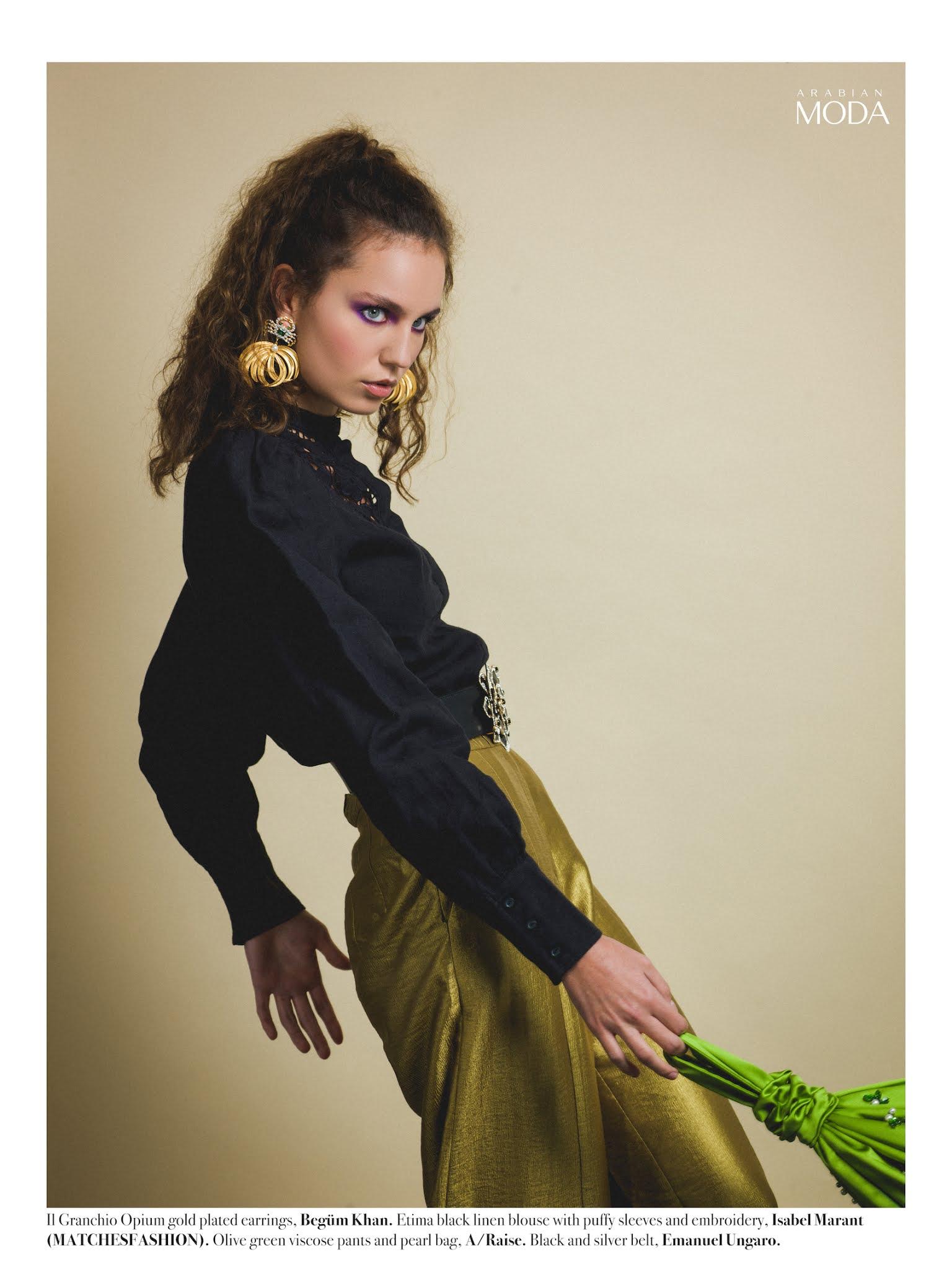 4- Arabian Moda x Isabel Marant x Begüm Khan x A/Raise x Emanuel Ungaro