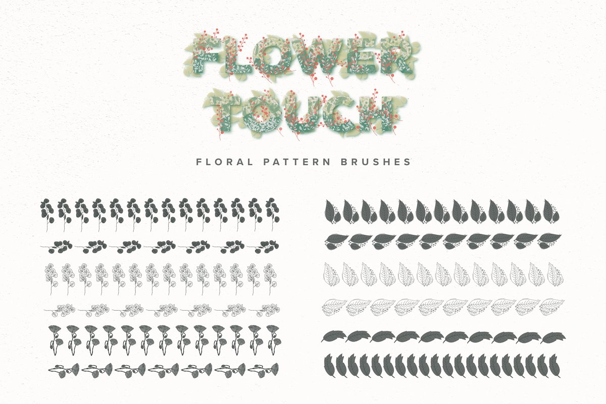 Flower Touch Procreate Brushes (BRUSH) Trị Gía $18